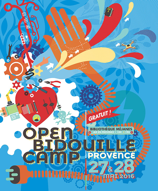 Open Bidouille Camp Provence édition 2016